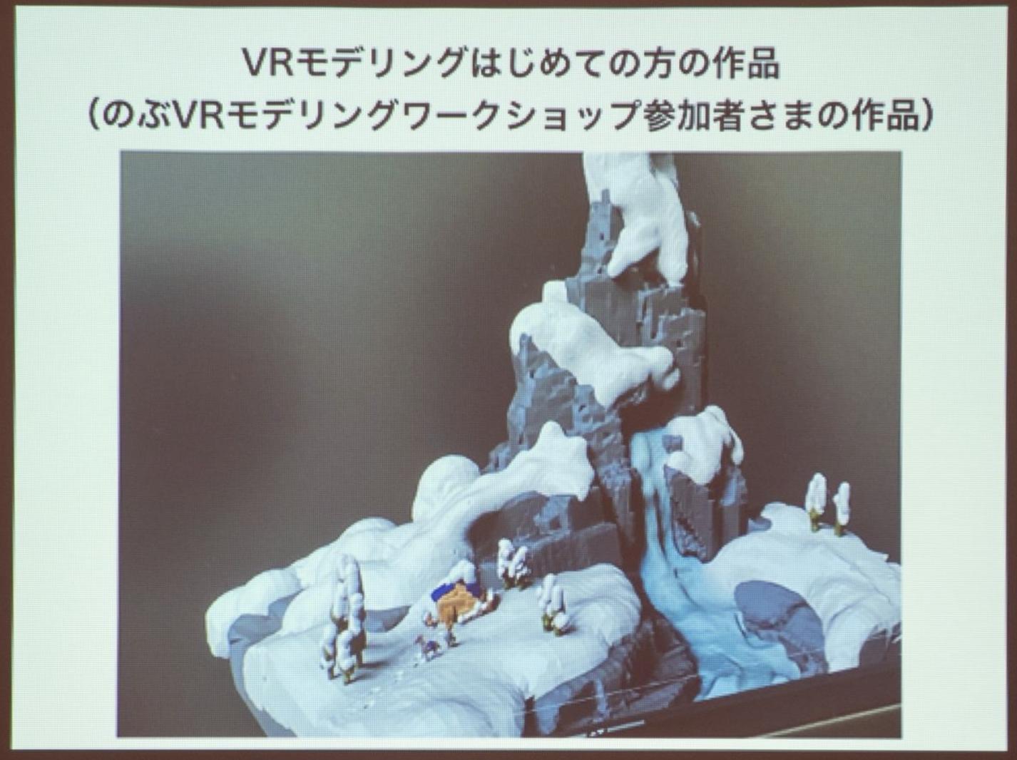 マイナビニュース|VRモデリングは単純に楽しい! ZBrush伝道師の福井信明氏が語るVRの可能性と活用法 - ワンフェス2020[冬]